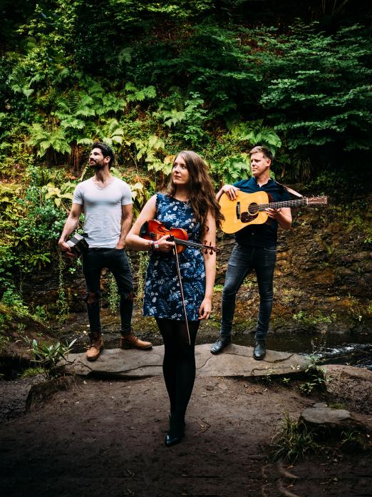 THREE OF THE BEST: Scottish trio Talisk will perform at The Witham on Saturday
