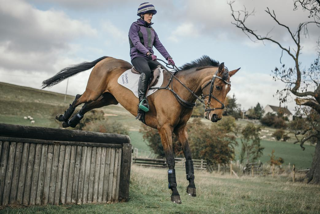 UP AND DOWN: The challenges of eventing mean no two weeks are the same for Tanya Buckingham-Lloyd Pic: Claire Hirst