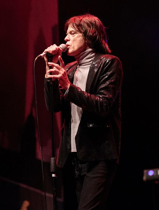 ROLLING ALONG: Paul Ashworth sings Mick Jagger in The Rolling Stones Story