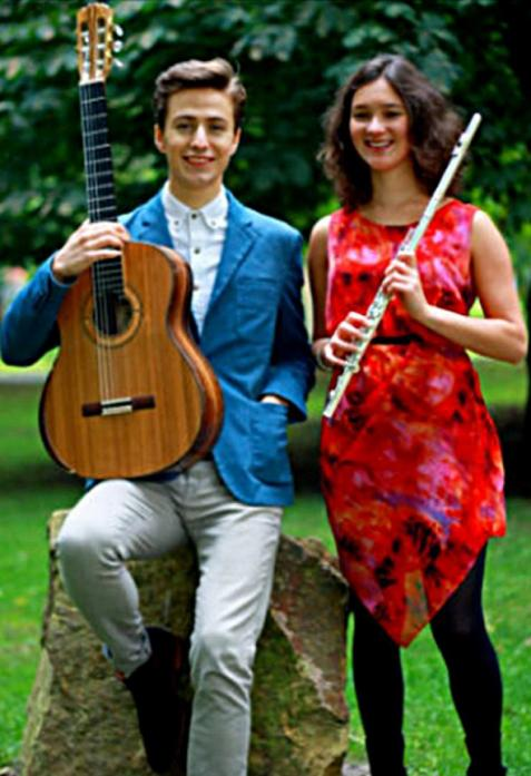 VARIED AND ENJOYABLE: The Meraki Duo performed at the first of a new season of Sunday afternoon concerts