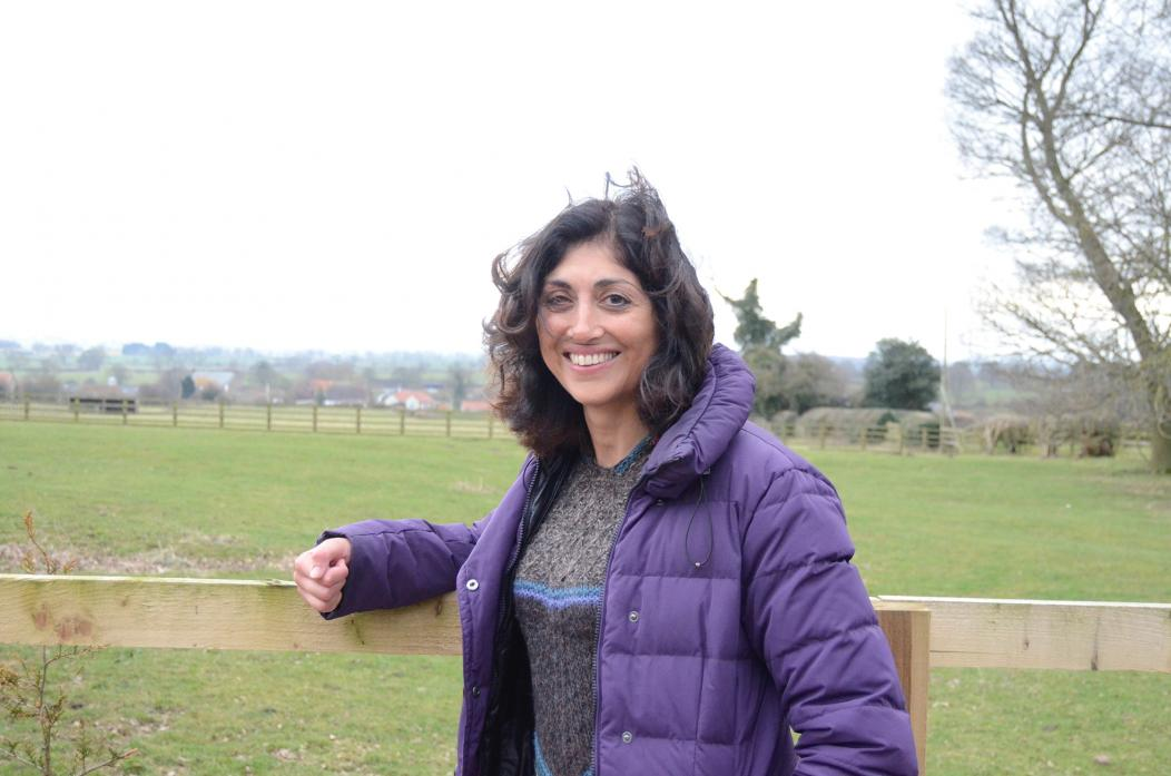 GREAT OUTDOORS: Satinder Sanghera is hoping to provide gardening therapy from her Killerby home