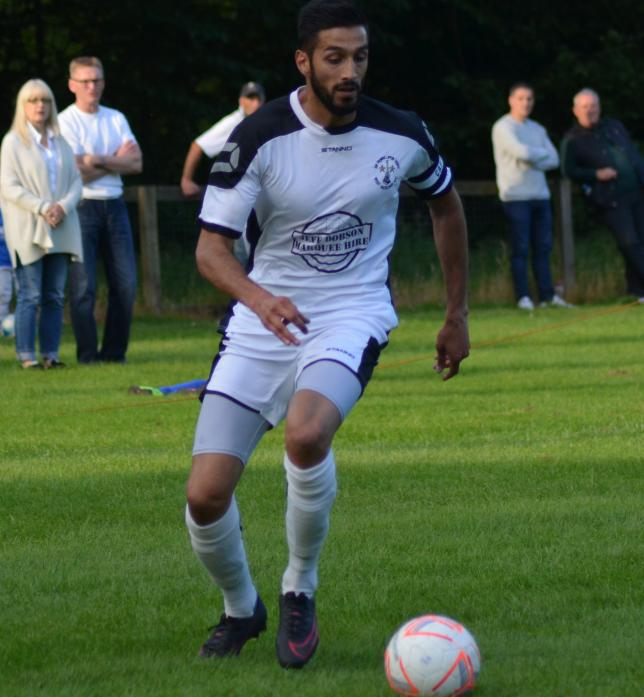 STRIKER: Amar Purewal scored twice in the 3-0 win over Sunderland RCA