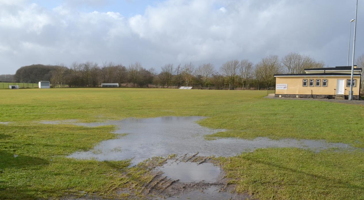 DRAINAGE PROBLEMS: Evenwood CC's players say drains need replacing at the Randolph Social Welfare Ground