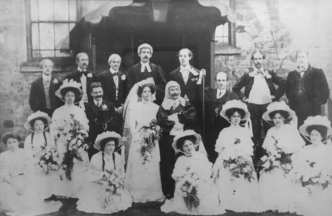 QUITE A SIGHT: Barnard Castle Operatic Society's first production was 1904's Trial by Jury, also by Gilbert and Sullivan