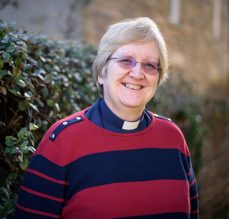 ON HER WAY: Revd Bev Hollings is moving to pastures new  			            TM pics