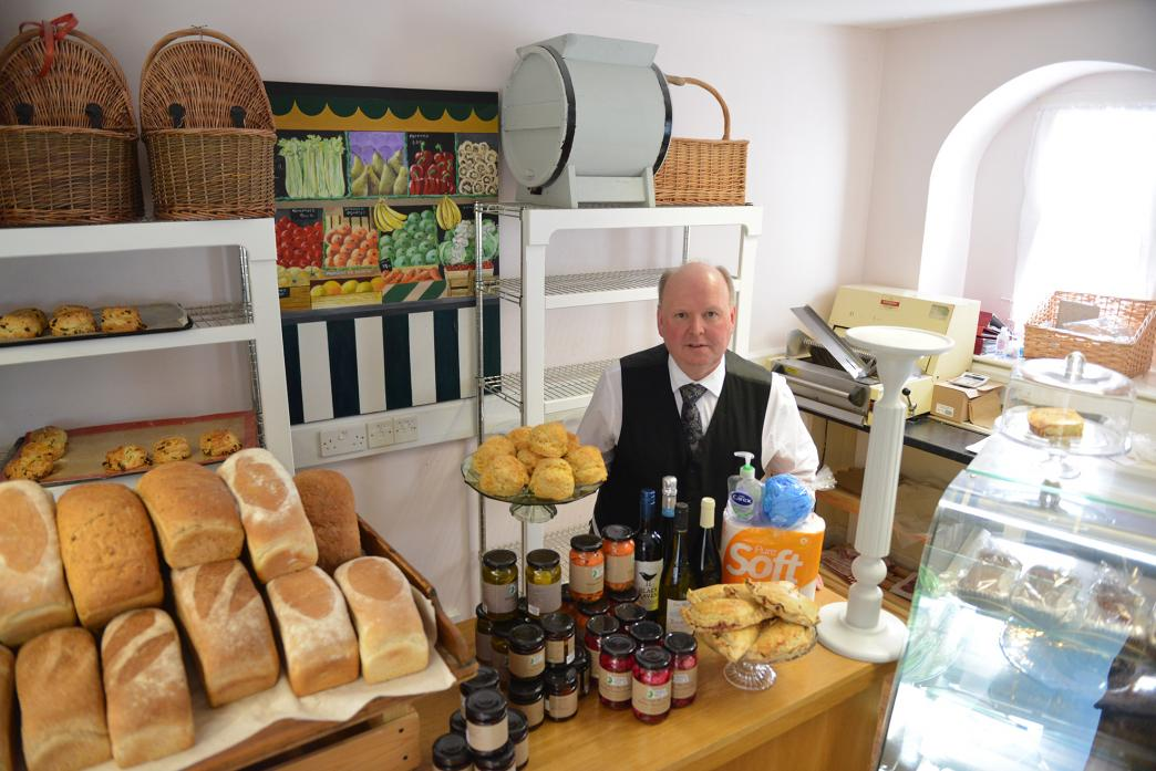 DELIVERING THE GOODS: Andrew Coghlan, of Coghlans Artisan Bakery, has started a free delivery service to ensure people can get food and household goods as supermarket shelves become empty