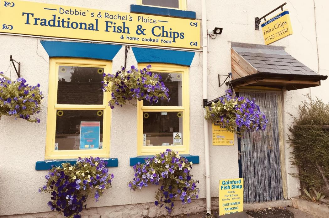 KIND OFFER: Some families are finding it hard to make ends meet, so Gainford's chippie has come up with a new scheme