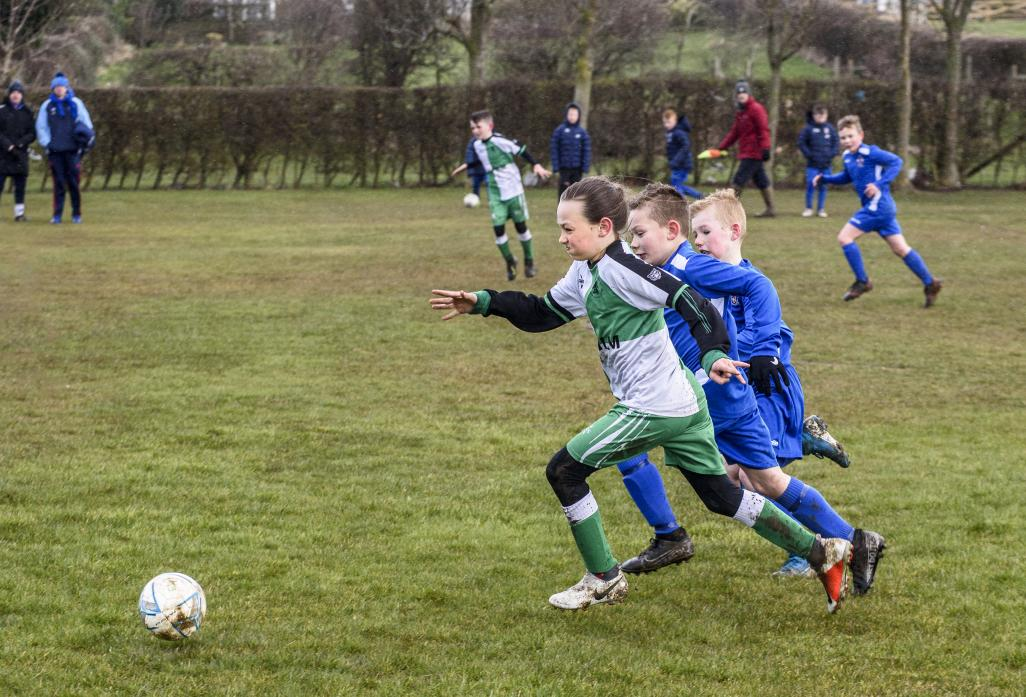 Barney lads determined to win the ball back