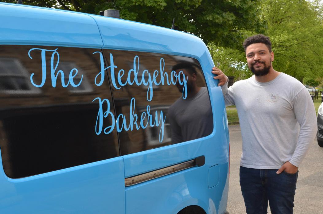 BUSY TIME: Demand for sweet delicacies has seen Theo Farquharson's The Hedgehog Bakery flourish