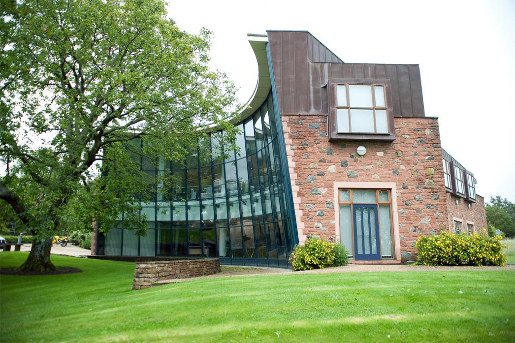 UNDER THREAT: The Frank Pattinson Building at Newton Rigg, which was opened in 2014 as a new hub for students studying agriculture, forestry and engineering