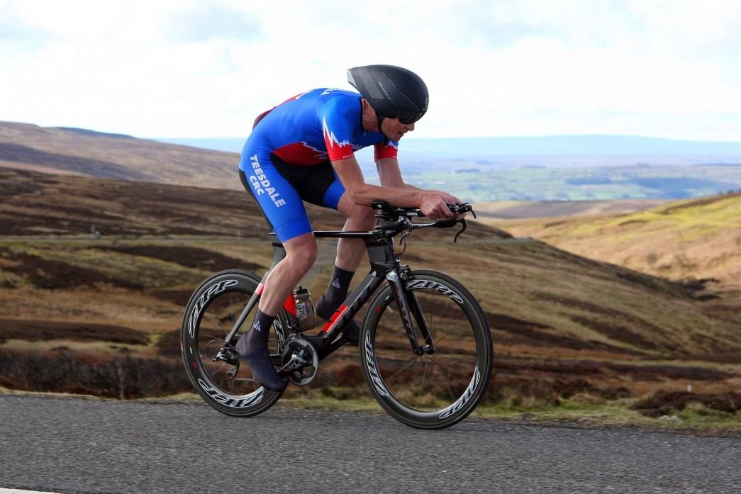 PICTURESQUE: The dales time trial organised by Teesdale CRC