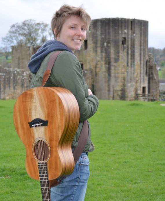 ON TRACK: Toni Sidgwick has embraced the music scene both in the dale and across the North East since moving to the area from her native Shetland Islands