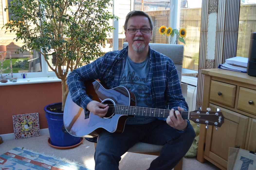 TUNING UP: Paul Place will be welcoming acoustic musicians to Gainford Village Hall for monthly sessions starting this Friday, April 13