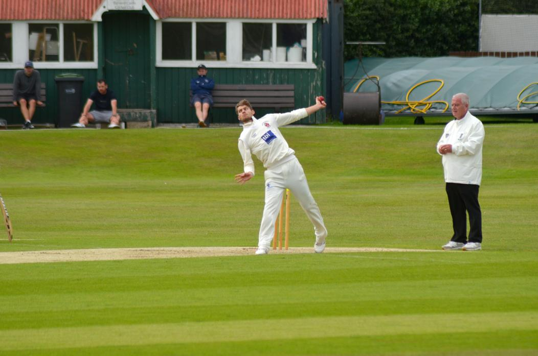 WICKETS: Professional Karl Carvery picked up his second five-for, this time against Normanby Hall