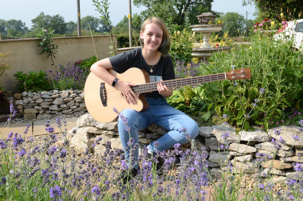 STRING TO HER BOW: Kirsty McLachlan has won one of 25 places on The National Folk Ensemble