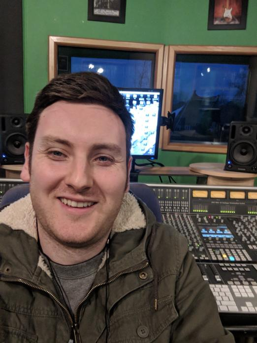BANGING THE DRUM FOR MUSIC AT THE HUB: Tom Whittaker