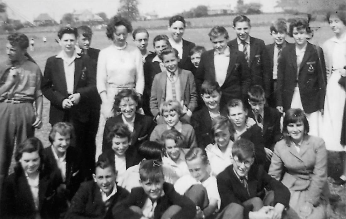 BACK TO SCHOOL: Steve Iceton sent in this old picture from his school days