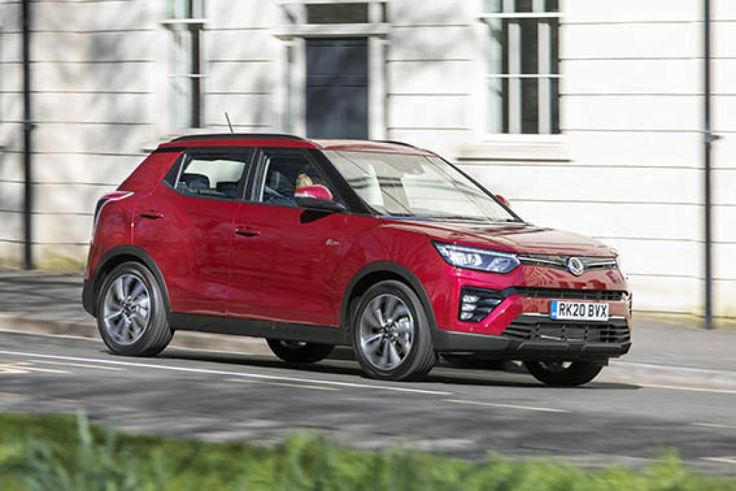 On the road: The new SsangYong Tivoli