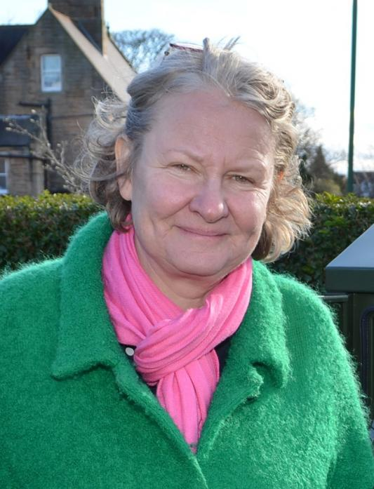 MARGINAL: Helen Goodman spoke in support of the dale's upland farmers