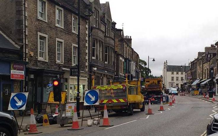 Businesses counting the cost of roadworks in Barnard Castle town centre