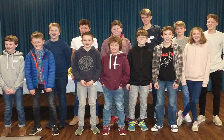 Young stars' efforts lauded at Barnard Castle CC junior presentation