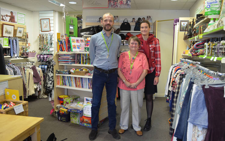 Come and help, urges new boss at Oxfam store