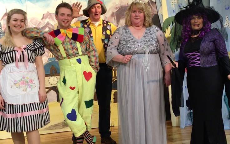 DADS army prepares for annual panto