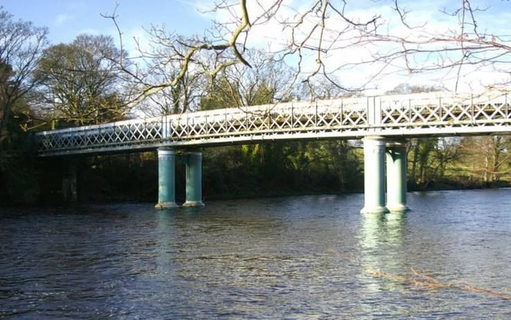 Reopening of Barnard Castle's Silver Bridge put back to the spring
