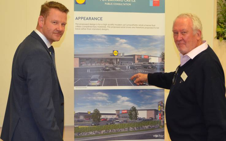 Town 'overwhelmingly' backs proposals for Lidl store
