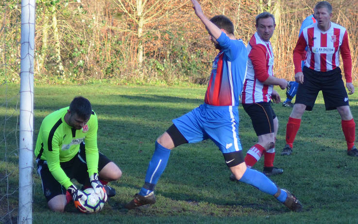 Teesdale football round-up: Toft Hill go marching on with 6-1 victory