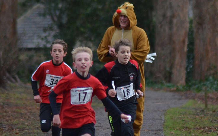Athletes young and old will come under starter's orders at Teesdale AC's reindeer races