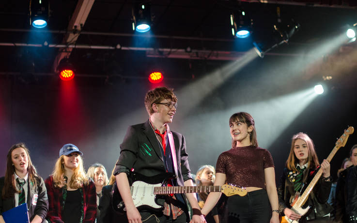Talented teens steal show as School of Rock comes to town