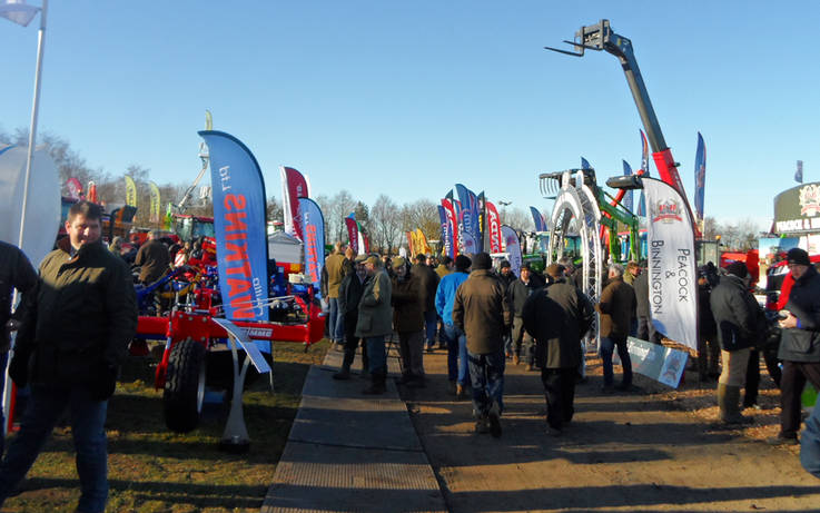 Latest kit on view at annual Yorkshire Agricultural Machinery Show