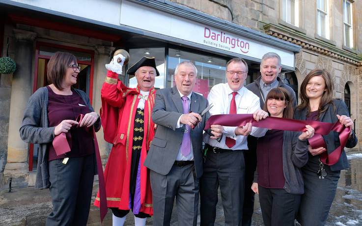 Plenty to shout about as new-look Darlington Building Society branch is unveiled in Barnard Castle
