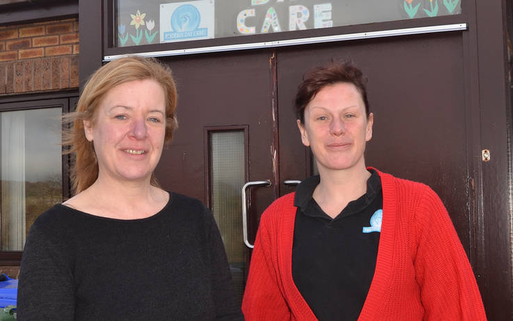 Day care firm returns to base after office is repaired