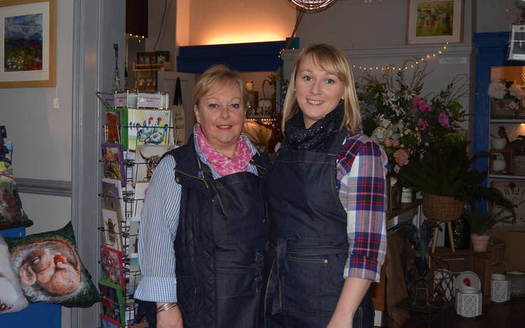 Mum and daughter plan delicatessen at their Gainford cafe