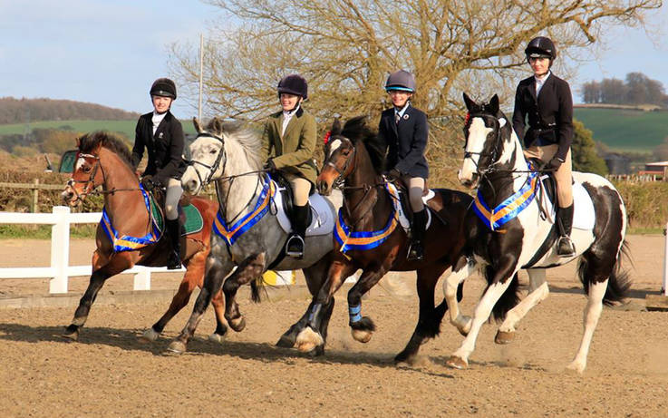 National glory for young riders