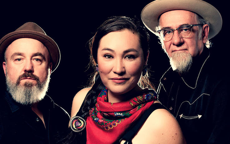Folk trio head from Canada to Cotherstone