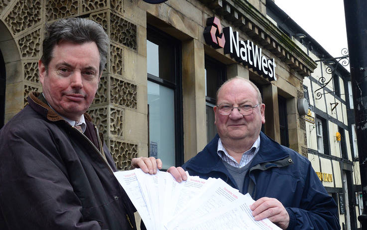 500 sign up against NatWest bank closure proposal in Barnard Castle