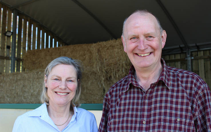 Couple who figured out farming was for them