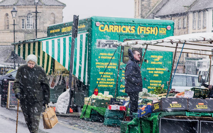 'Low cost, low risk' way of becoming a market trader in Barnard Castle