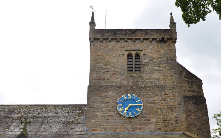 Satellite technology keeps antique clock in Gainford church ticking over
