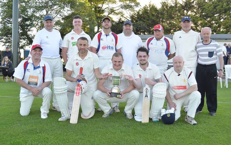 Cricket – Ten wicket win sees Lands clinch C Division cup
