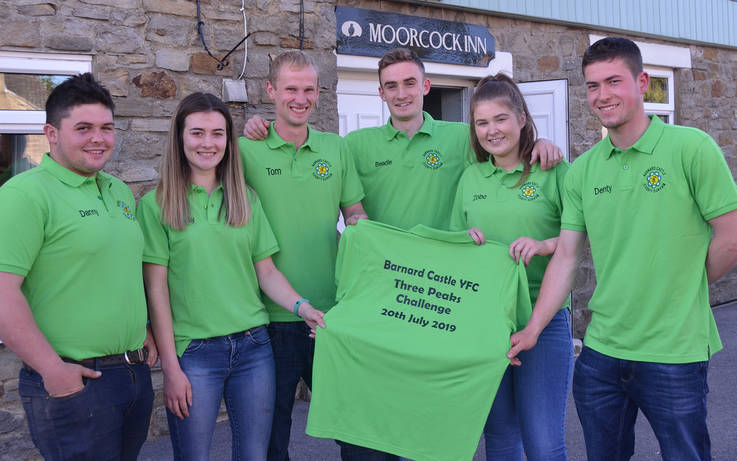 Young farmers to scale the heights for mental health charity