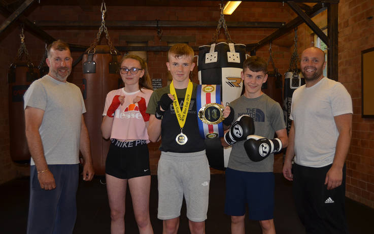 Boxing club boasts a host of title successes