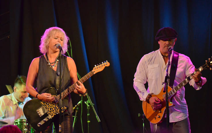 Blues rocker Rebecca Downes heads to Mickleton straight from UK tour supporting Magnum