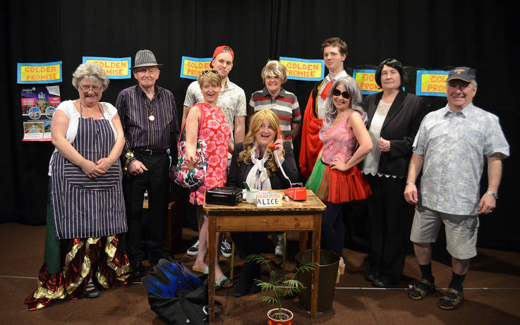 Teesdale Players take to stage with latest murder mystery show