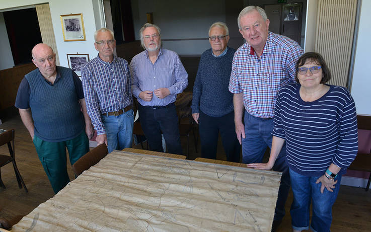 Newly-uncovered map to be shown at Gaunless Valley history exhibition