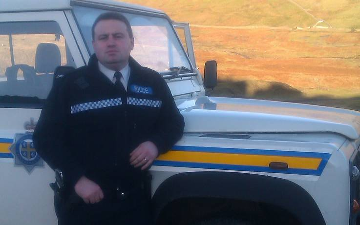 Long-serving police officer bids farewell to Teesdale