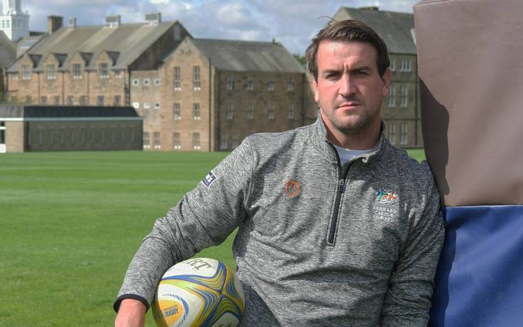 Ex-England rugby star is back at Barney School